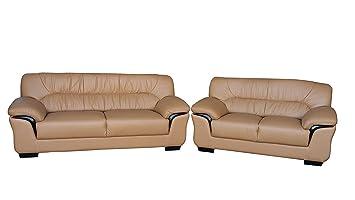 Amazonde Design Voll Leder Sofa Garnitur Polstermöbel