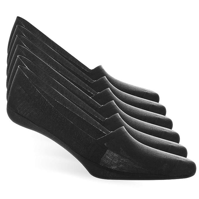 MOCOCITO Calcetines Invisibles premium de Algodón, para Hombres, cortos,bajos, Low cut