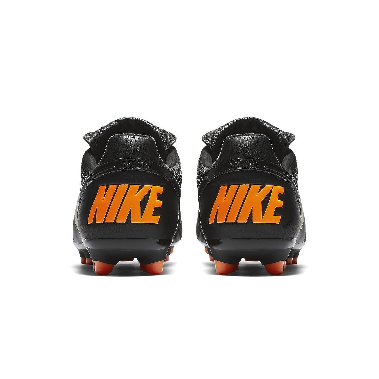 Nike Premier II Suola FG Pelle di Canguro NeroArancione