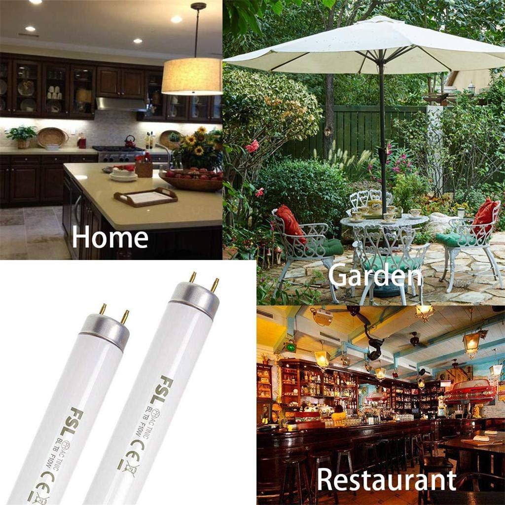 n/éon Lampe Fluorescente TPulling Lot de 2 Tubes fluorescents LED 150 cm pour Ampoules de Rechange T8 pour 20 W Bug Zappers Wei/ß 20.0W
