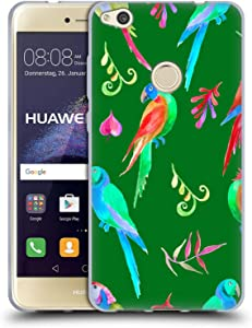 Head Case Designs Officially Licensed Haroulita Nature Parrots Animals Soft Gel Case Compatible with Huawei P8 Lite (2017)