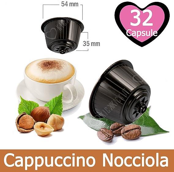 32 Capsulas Cappuccino Sabor Avellana Compatibles Nescafè Dolce ...