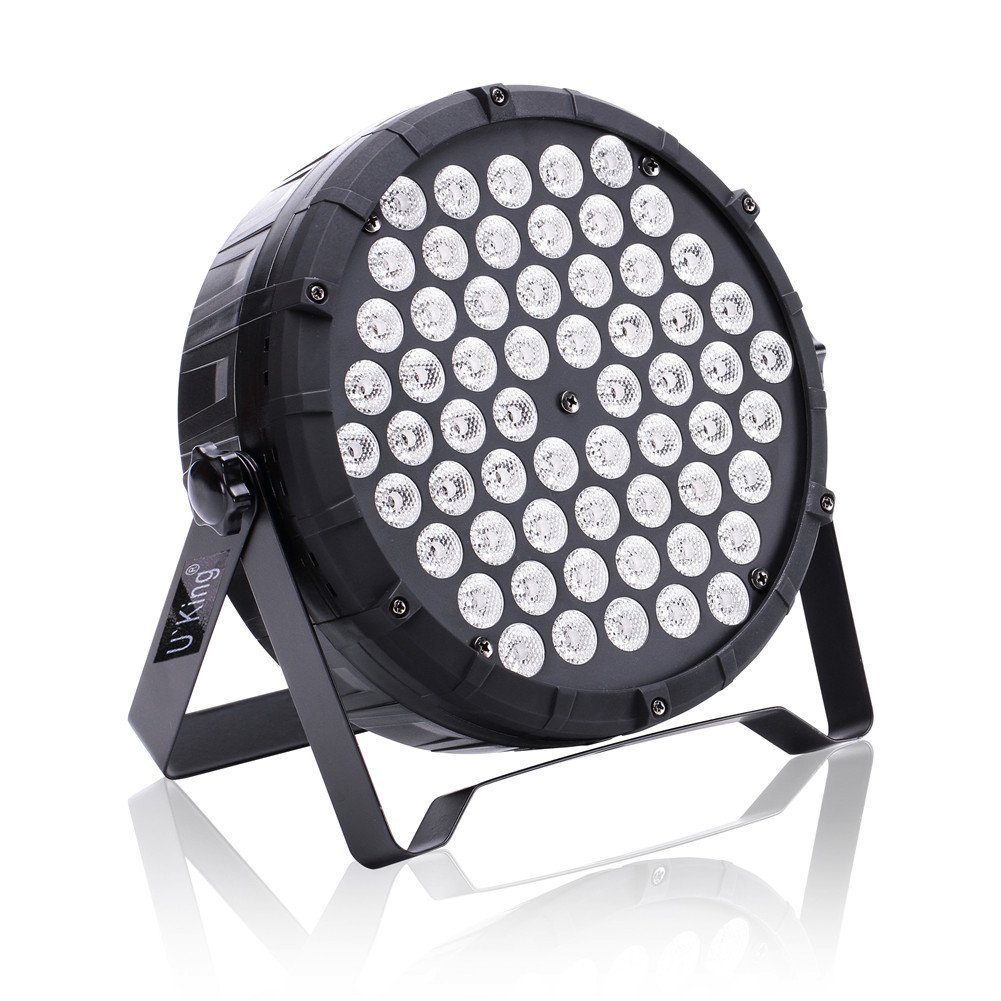 Amazon.com: DJ Lights Stage Lighting 60 Led Par Lights RGB by Sound Activated DMX512 for Party Up Lighting: Musical Instruments