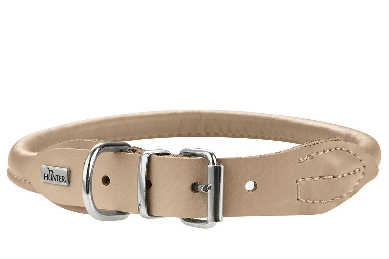 Hunter HT61170 Round & Soft Elk Leather Collar, One Size