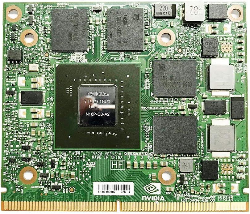 Genuine New Graphics Video Card Nvidia Quadro M2000 M2000M GDDR5 4GB GPU for Dell Precision M7510 M7520 HP ZBook 15 17 G3 Mobile Workstation Laptop MXM VGA Board Replacement Repair Parts