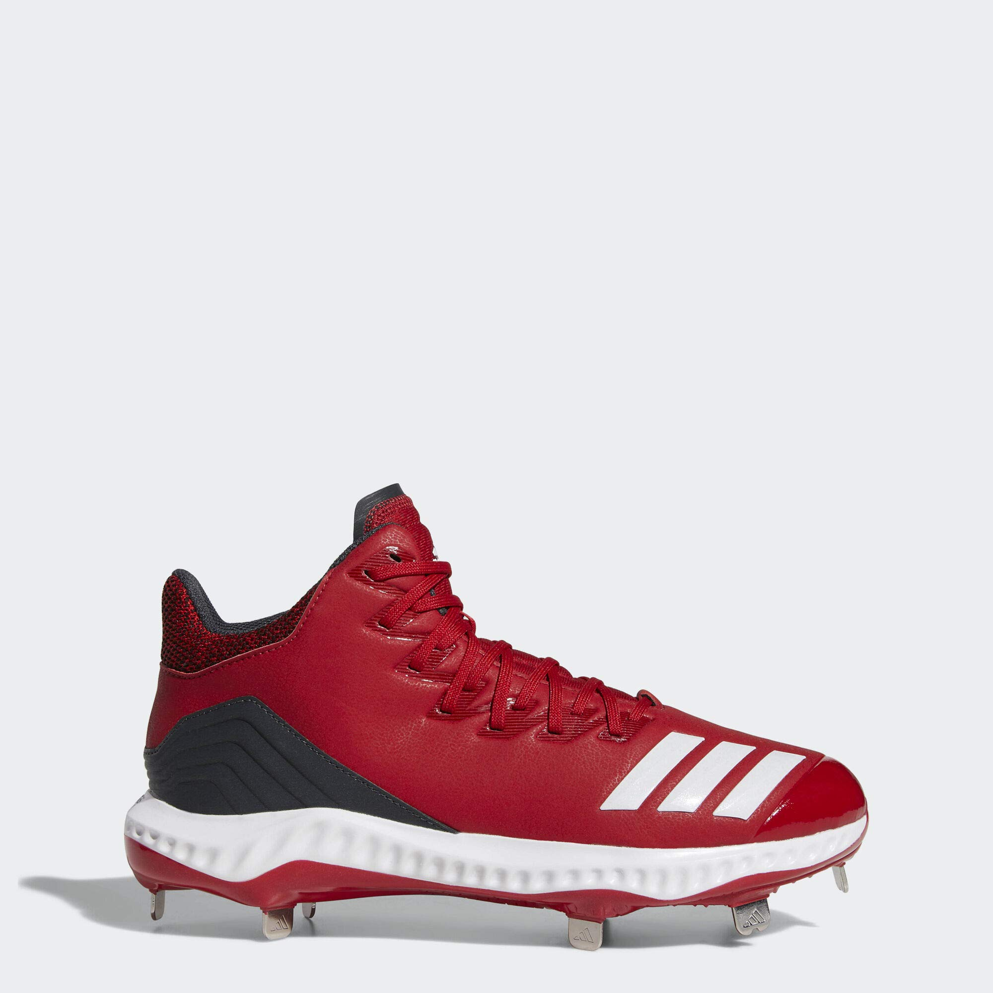 adidas Men's Icon Bounce, power red/white/carbon 9 M US by adidas