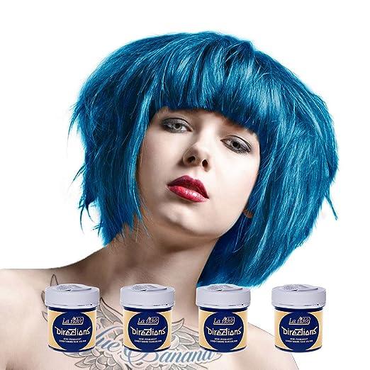 2 opinioni per La Riche Directions 4 Pack Of Semi Permanent Hair Dye / Hair Colour (4 x 88ml)-