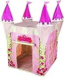Kiddus Spielzelt für Kinder, das wie das Schloss einer Prinzessin geformt ist, mit UV-Schutz