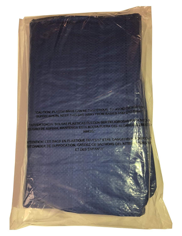 Hammerhead Tarp Blue Utility Waterproof Poly 10x10 Weave ...