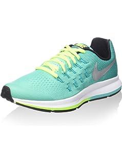 Air Zoom Pegasus 33, Zapatillas de Entrenamiento para Mujer, Morado (Hyper Grape/White/Hydrangeas/Black/Volt), 35.5 EU Nike