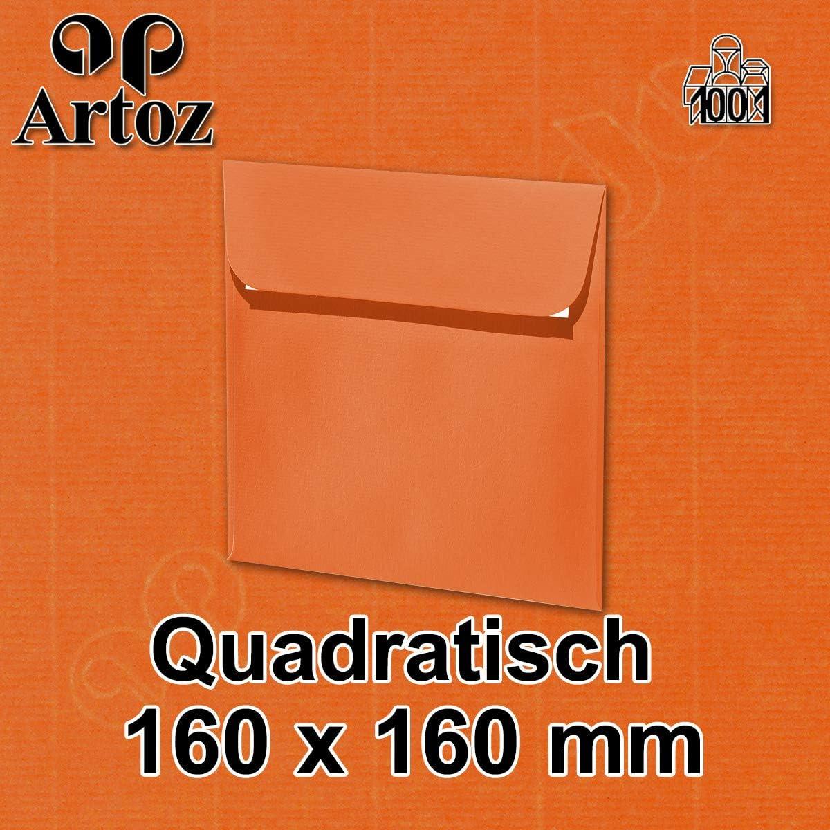 Haftklebung DIN C6 malt gerippt Artoz Serie 1001 Umschl/äge hochwertig 162 x 114mm 50 St/ück