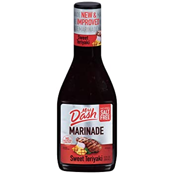Mrs Dash Marinade Salt-Free Sweet Teriyaki Sauce
