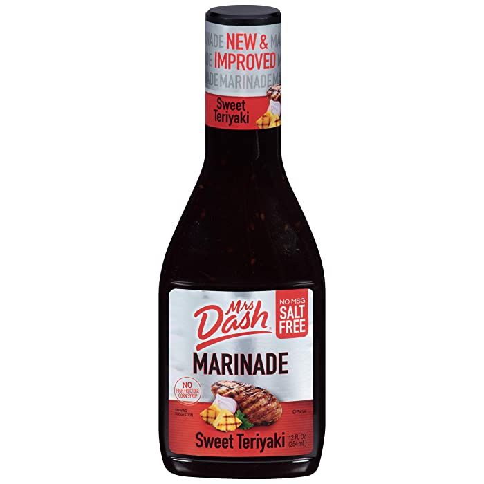 Mrs. Dash Marinade, Sweet Teriyaki, 12 Ounce (Pack of 6)