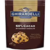 Ghirardelli Cacao Bittersweet Chocolate Baking Chips, 30 Ounce
