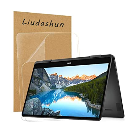 Liudashun Screen Protector for Dell Inspiron 13 7386 2-in-1 13.3 Laptop Pack of 2