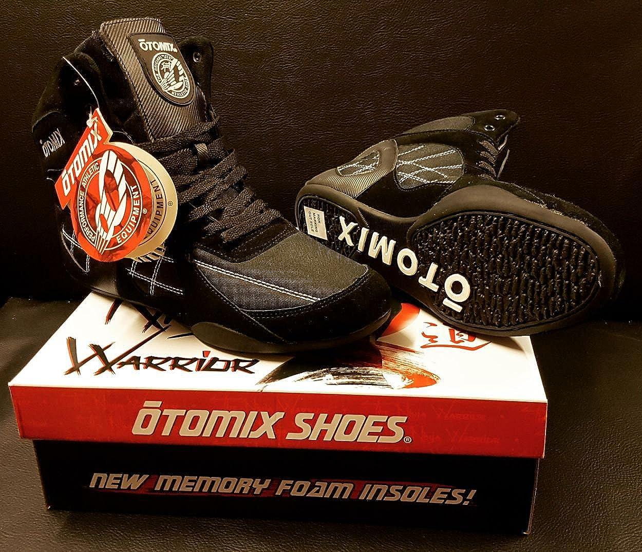 OTOMIX - Zapatillas para deportes de interior de Piel para hombre Amarillo amarillo