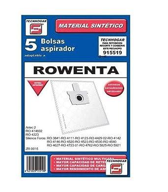 Ersa 915519 - Bolsa aspirador sintetica 915519 5un.: Amazon.es ...