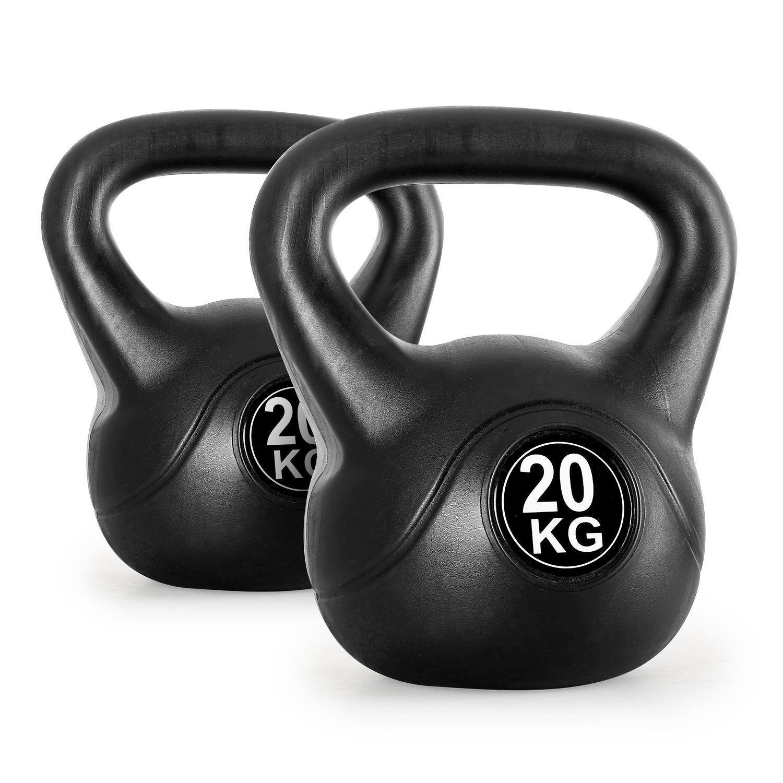 Klarfit Par de pesas rusas de entrenamiento 20kg