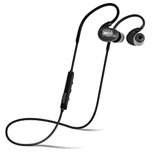 ISOtunes PRO Bluetooth Earplug Headphones, 27 dB Noise Reduction Rating, 10 Hour Battery, Noise Cancelling Mic, OSHA Compliant Bluetooth Hearing Protector (Matte Black)