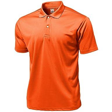 Wundou P335 - Polo deportivo para hombre ?Naranja neón: Amazon.es ...