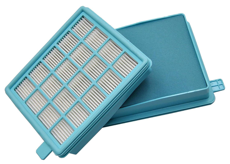 LeaBen® - Filtro HEPA adatto per aspirapolvere Philips FC9320, FC9321, FC9322, FC9323, FC9324, FC9325, FC9326, FC9327 come 432200493801