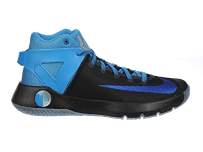 quality design b4e8f 3bc72 Nike Men s KD Trey 5 IV PRM Kevin Durant Basketball Shoes 844589 040 Black  Blue Glow