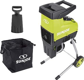 Sun Joe CJ603E Electric Wood Chipper Shredder for Composting
