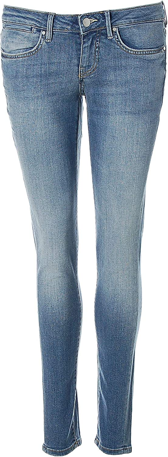 Guess Damen Jeans Jeanshose Jegging Ultra Skinny Low Blau