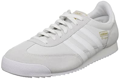 3c047f21c0160 adidas Originals Dragon Men's Trainers White Size: 3.5 UK D(M ...