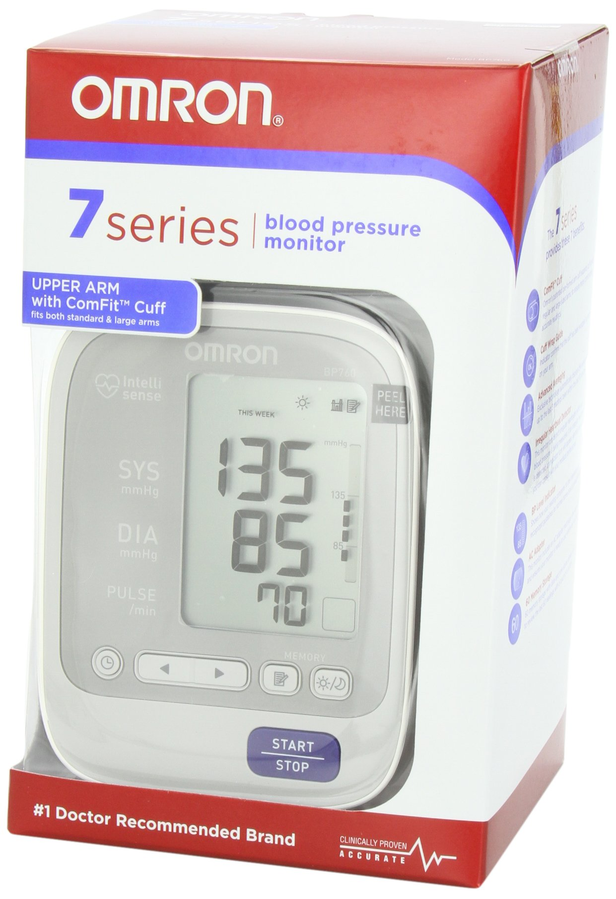 Omron 7 Series Upper Arm Blood Pressure Monitor by Omron (Image #5)