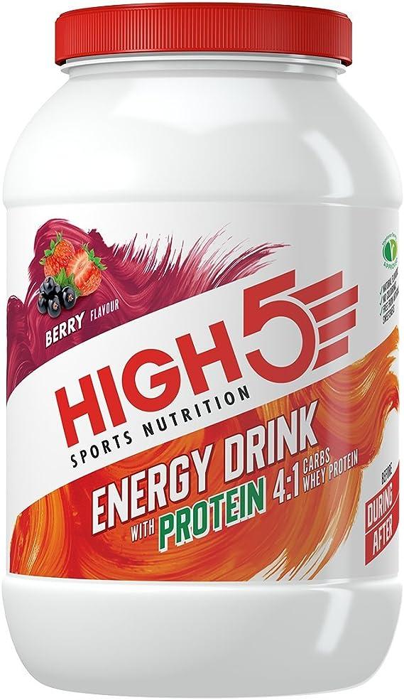 High 5 HFN062 High5 Bebida Energética con Mezcla De Proteínas ...