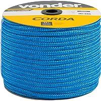 Corda Multifilamento Trançada 10 X 190 M, Azul, Em Carretel, Vonder Vdo2921 Vonder Azul
