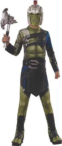 Avengers - Disfraz de Hulk Guerrero Ragnarok para niños, infantil ...