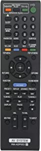 New RM-ADP053 Replace Remote fit for Sony BDV-E870 BDV-E570 BDV-E470 BDV-E370 BDV-T57 BDV-T37 BDVE870 BDVE570 BDVE470 BDVE370 BDVT57 BDVT37 DVD Home Theater Audio Blu Ray Disc Player