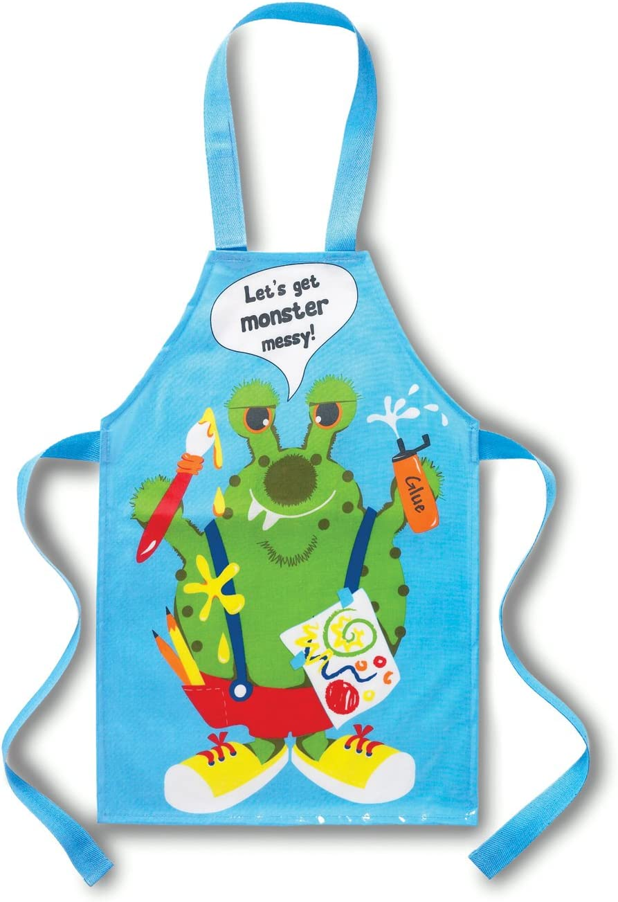 Kids Monster PVC Apron