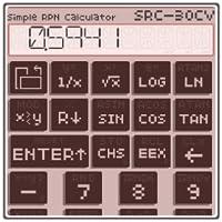 Simple RPN Calculator SRC-30CV