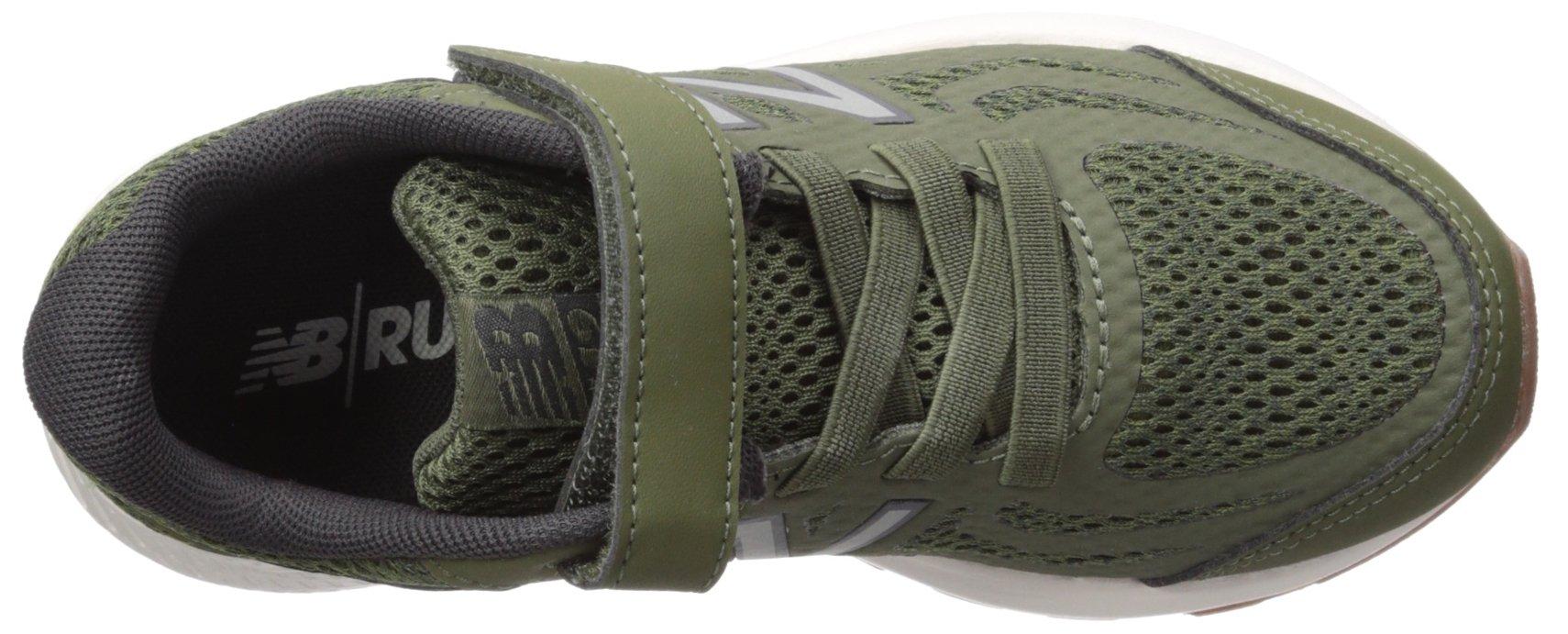 New Balance Boys' 519v1 Hook and Loop Running Shoe Dark Covert Green/Phantom 2 M US Infant by New Balance (Image #8)