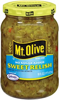product image for Mt. Olive No Sugar Added Sweet Relish 16 Oz