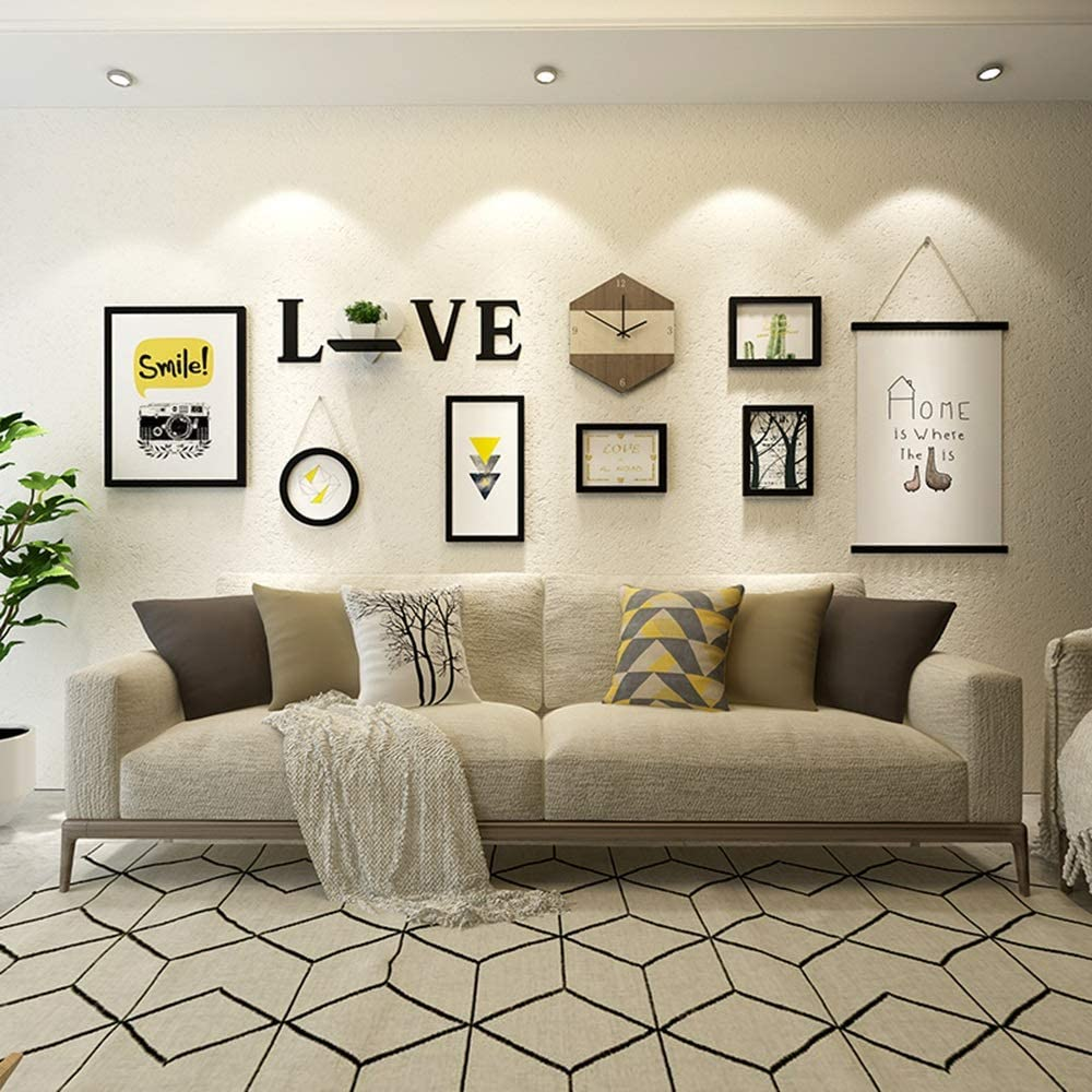 Painting Simple Modern Paintings Creative Combination Wall Hanging Picture Frame Living Room Wall Amazon Ca Home Kitchen