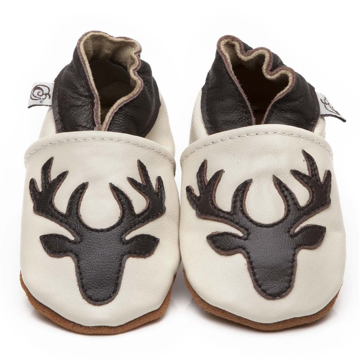 Suaves Zapatos De Cuero Del Beb/é Ciervo 4-5 a/ños