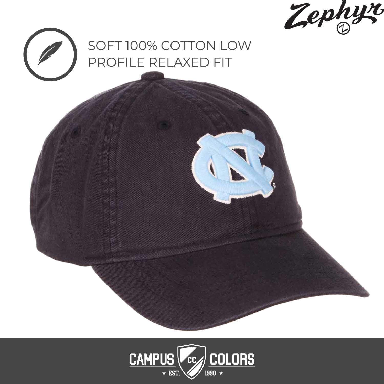 Marineblau North Carolina Tar Heels NCAA Erwachsenenm/ütze verstellbar