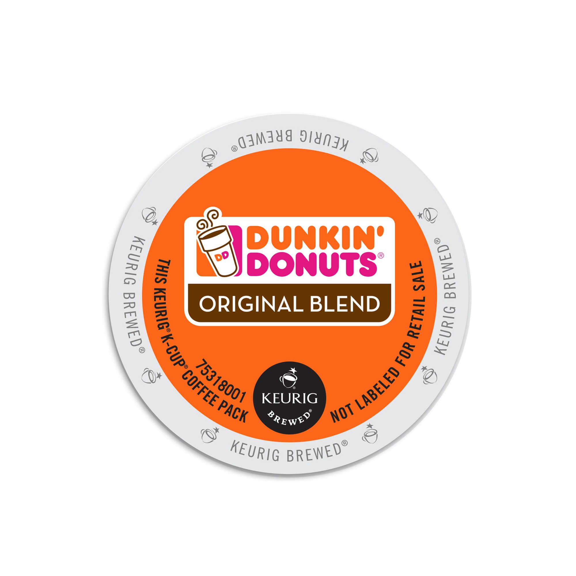 Dunkin' Donuts Original Blend Coffee K-Cups by Dunkin' Donuts