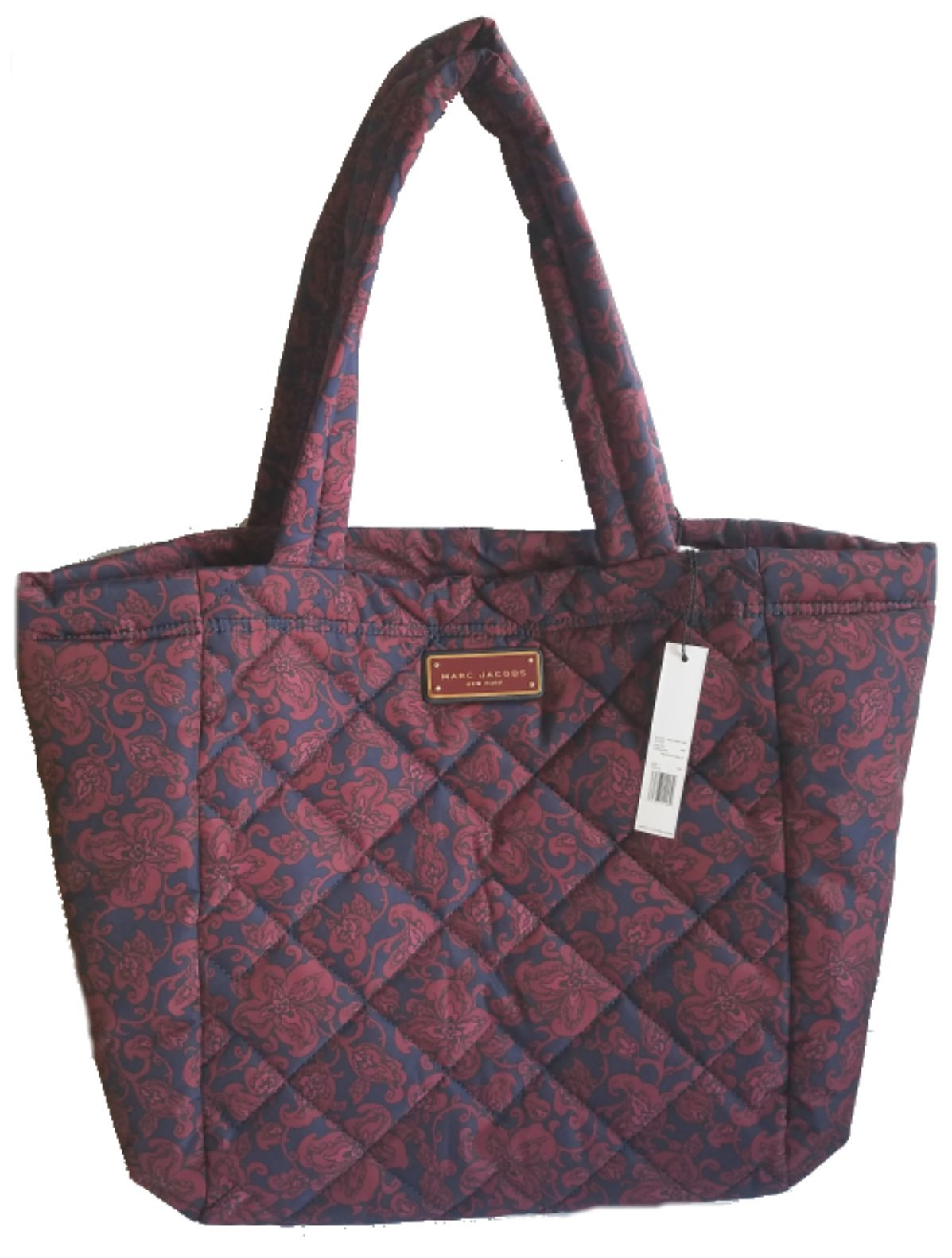 Marc Jacobs Quilted Medium Tote, Peacoat Multi