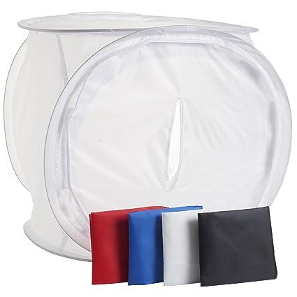 eSecure - 50CM Photo Soft Light Box Tent Cube + 4 Amazon.co.uk Camera u0026 Photo  sc 1 st  Amazon UK & eSecure - 50CM Photo Soft Light Box Tent Cube + 4: Amazon.co.uk ...