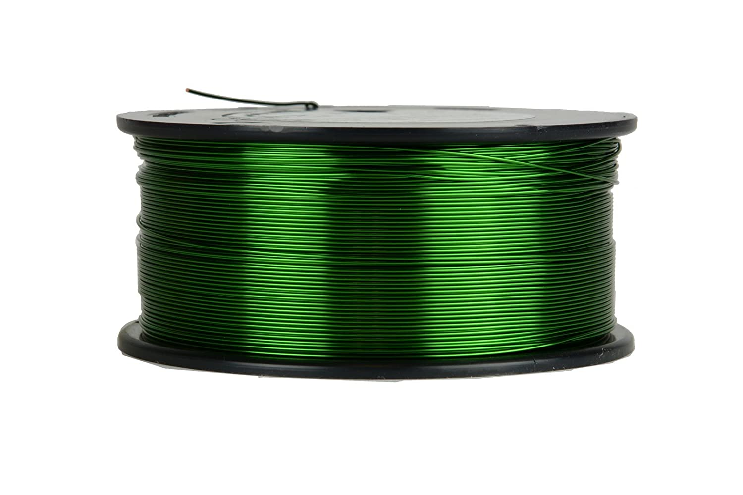 1.5 lb 752 ft 155/°C Magnetic Coil Green TEMCo 22 AWG Copper Magnet Wire