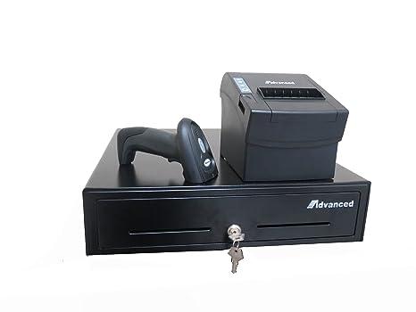Amazon.com: Cash Drawer Combo, impresora térmica de recibos ...