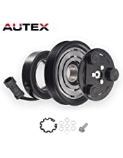 AUTEX AC A/C Compressor Clutch Assembly Kit 55111400AA Replacement for 2006 2007 2008 JEEP