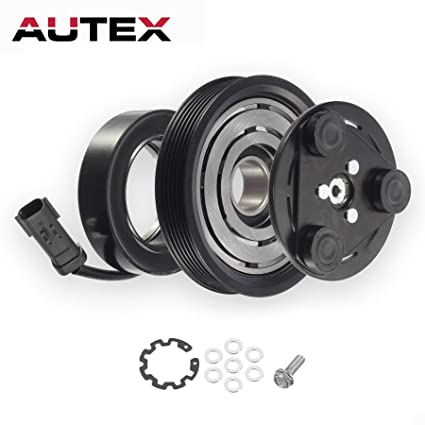 AUTEX AC A/C Compressor Clutch Coil Assembly Kit 55111400AA TEM255275 67184 55111400AB Replacement for