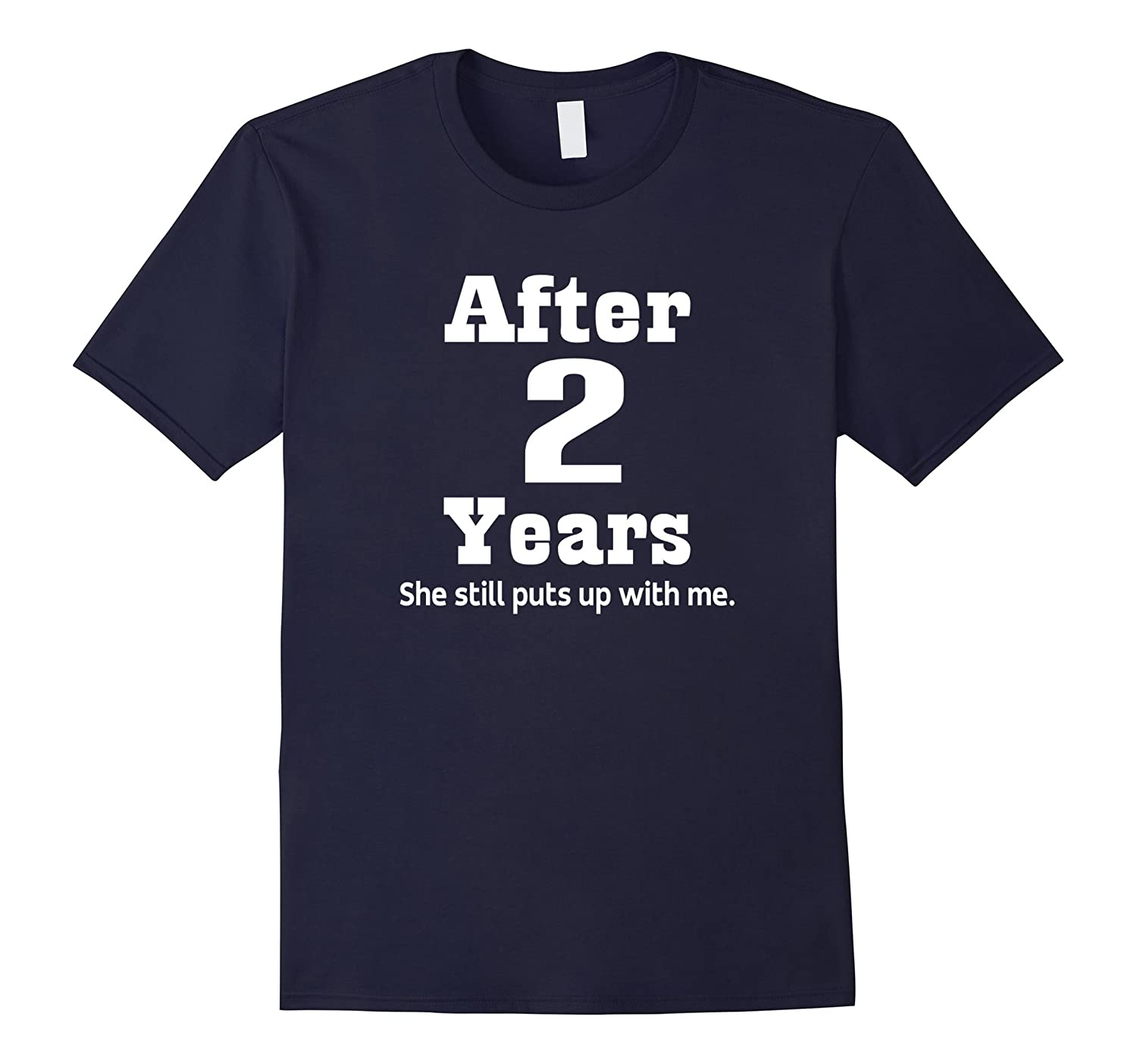 2nd Anniversary T-shirt Funny Mens Party Photo Tee-TH