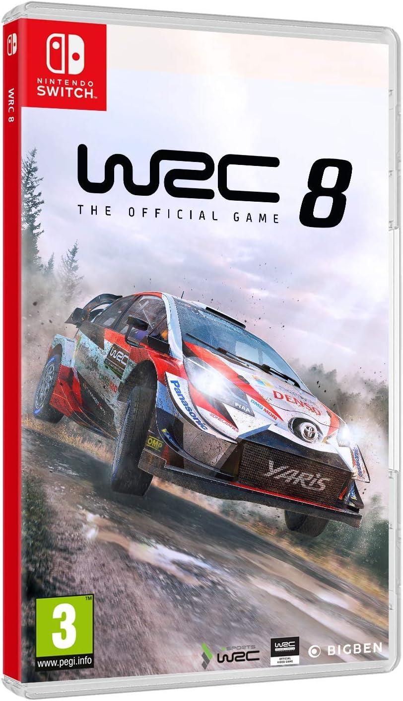 Big Ben Switch WRC: FIA World Rally Championship 8 EU: Amazon.es: Videojuegos